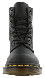 Dr. Martens Womens Leather Combat Slip Resistant Boots 1460 Pascal