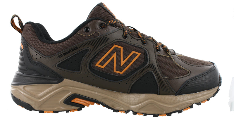 New Balance Men Trail Cushioned Wide Width Running Shoes MT481WC3