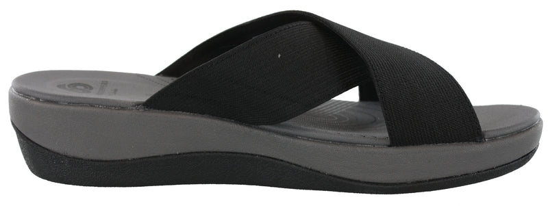 Clarks Women Summer Sandals Thick Sole Wedge Sandals Arla Elin