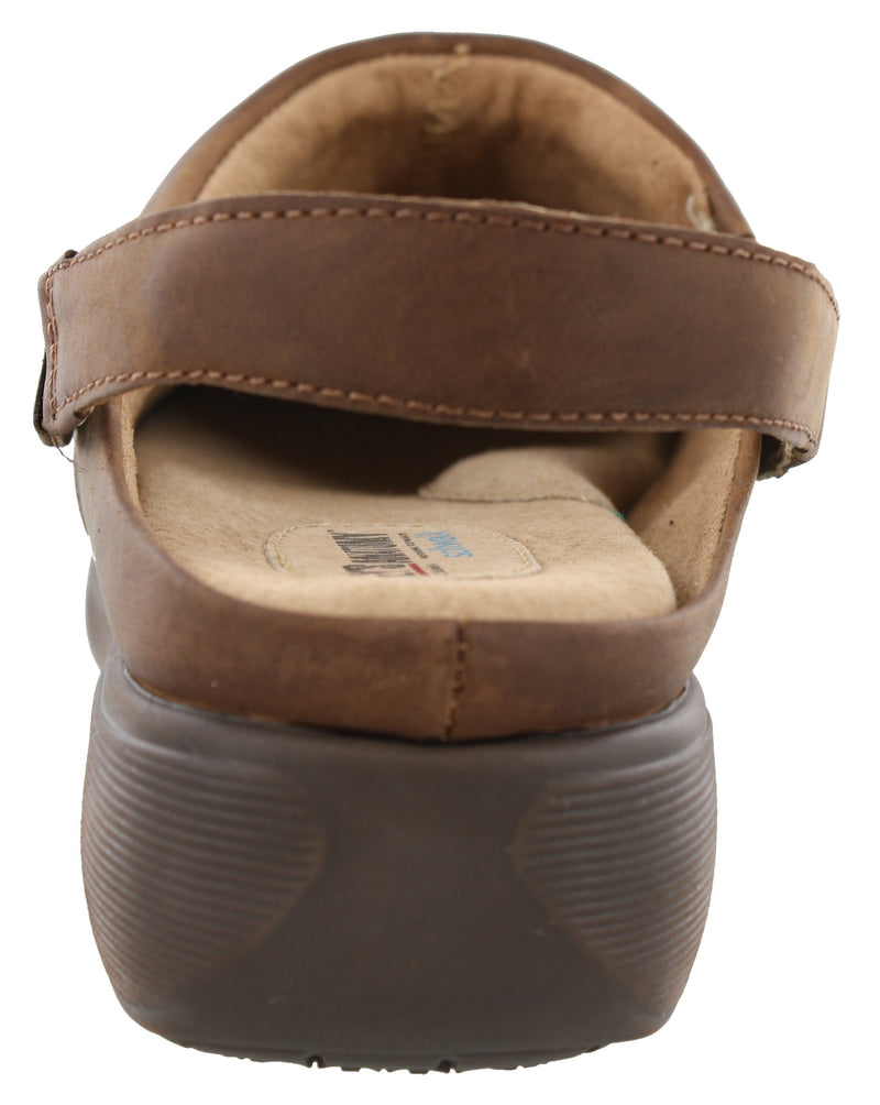 Grey Anatomy by Softwalk Nursing Slip Resistant Clogs Edge Pro