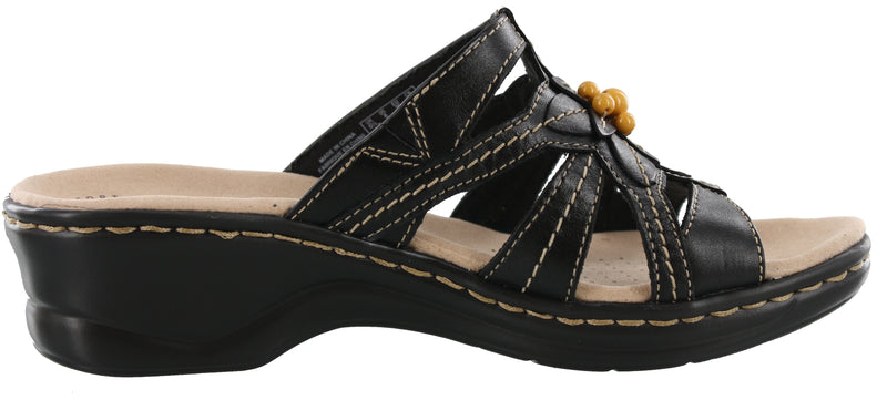 Clarks Women Summer Sandals Wide Width Wedge Sandals Lexi Myrtle