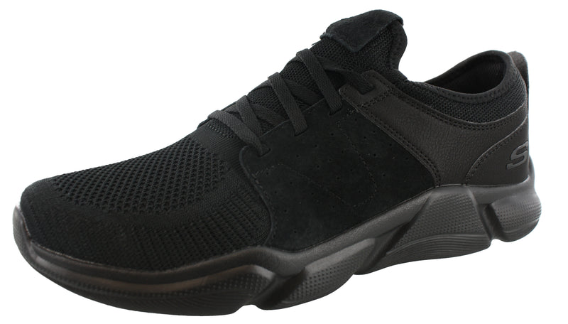 Skechers Mens Lightweight Slip On Running Shoes Drafter Wellmont