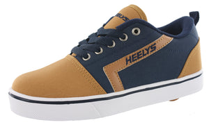 Heelys Kids Skateboard Wheeled Shoes With Wheels GR8 Pro Canvas