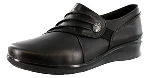 Clarks Womens Slip On Easy On And Off Casual Shoes Hope Roxane