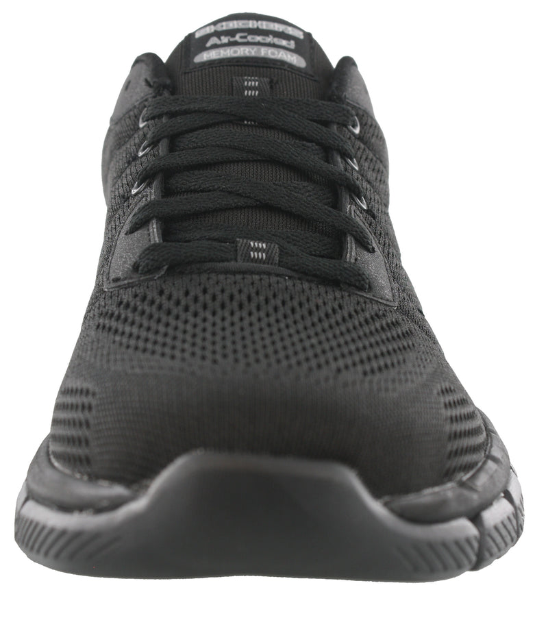 Skechers Mens Lightweight Wide Width Running Shoes Skech Flex 2.0 Wilwee