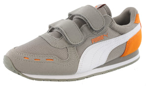 Puma Boys Dual Strap Running Shoes Cabana Racer Mesh V PS