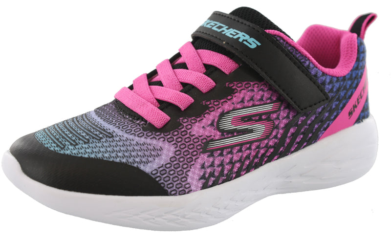 Skechers Girls Slip On Running Shoes Go Run 600 Radiant Runner