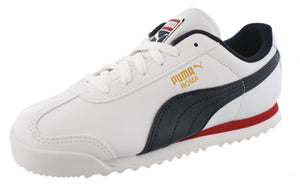 Puma Kids Lightweight Roma Basic PS Classic Retro Shoes
