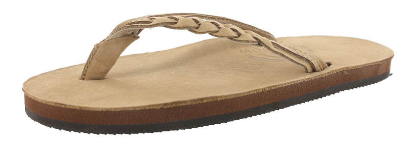 Rainbow Sandals Women With Arch Support Flirty Braidy