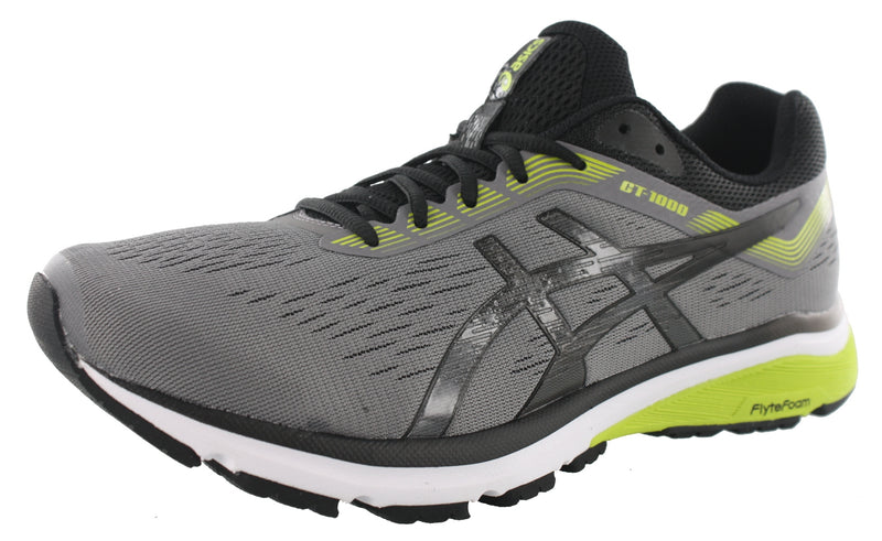 ASICS Men GT 1000 7 Wide Width Cushioned Running Shoes
