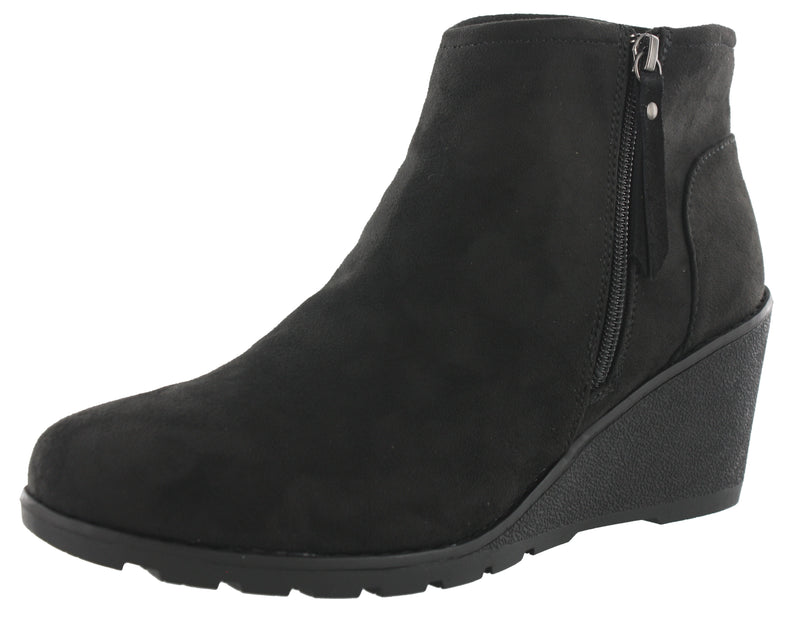 Skechers Women Tumble Weed Sun Chase Wedge Boots