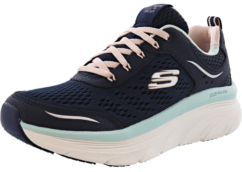 Skechers Women Lightweight Wedge Walking Shoes Infinite Motion