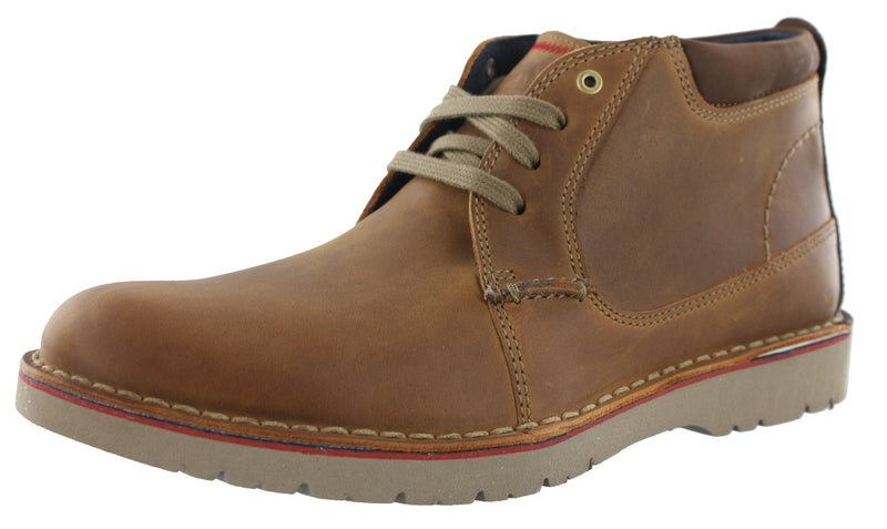 Clarks Men's Cushion Soft Padding Vargo Mid Ankle Boots