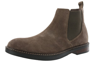 ,Black Leather798, Clarks Men's Casual Chelsea Boots Paulson Up
