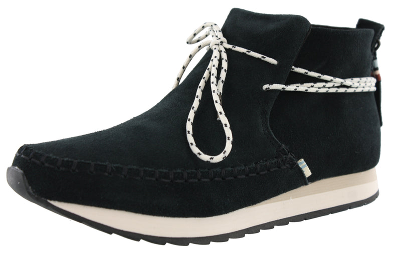 Toms Women Water Resistant Moccasin Boots Rio Mid