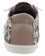 Skechers Women Bobs Beach Bingo Rock Band Memory Foam Walking Shoes