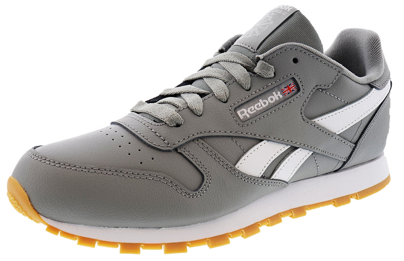 Reebok Big Kids Classic Retro Running Classic Leather