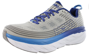 ,Alloy/SteelGrey,,Black/Black6,,Vapor Blue/Frost Grey, Hoka One One Men Ultra Marathon 2E Wide Running Shoes Bondi 6