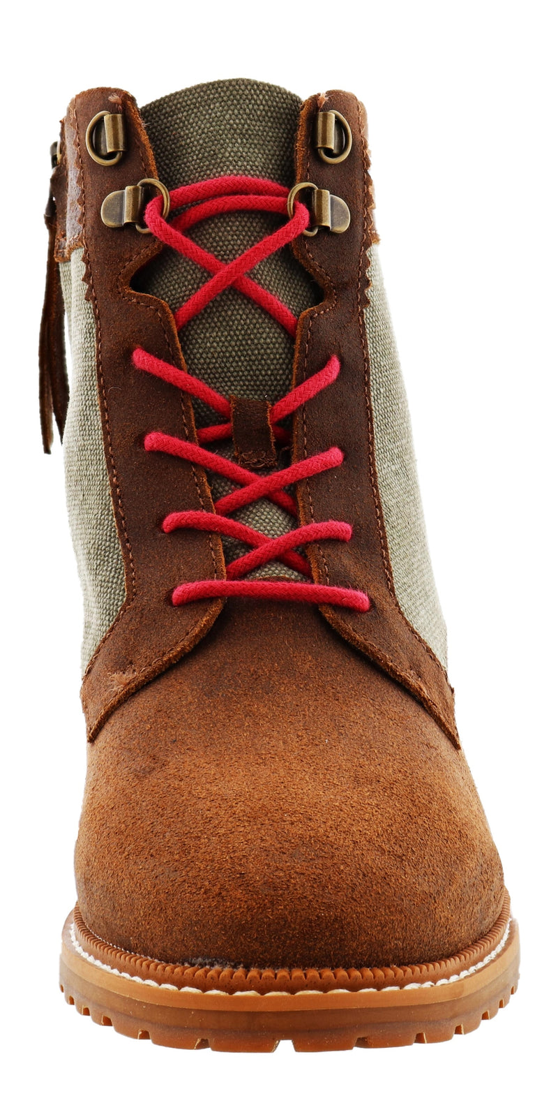Toms Women Lace Up Ankle Booties Nolita