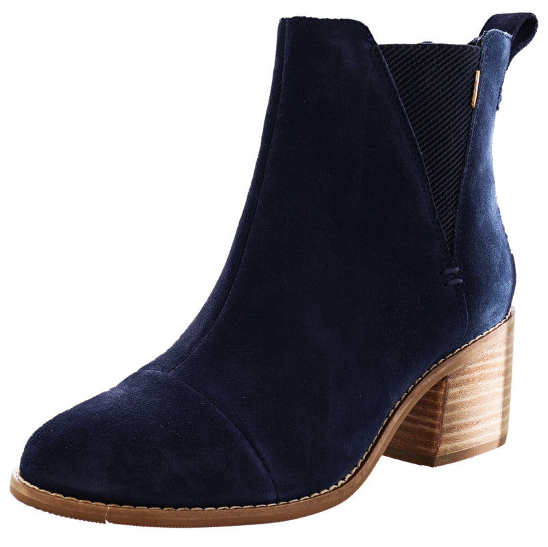 Toms Women Mid Block Ankle Booties Esme