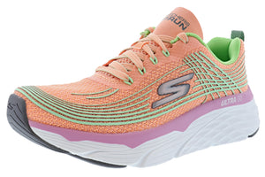 ,Purple/Pink6604, Skechers Women Lightweight Running Shoes Max Cushioning Elite