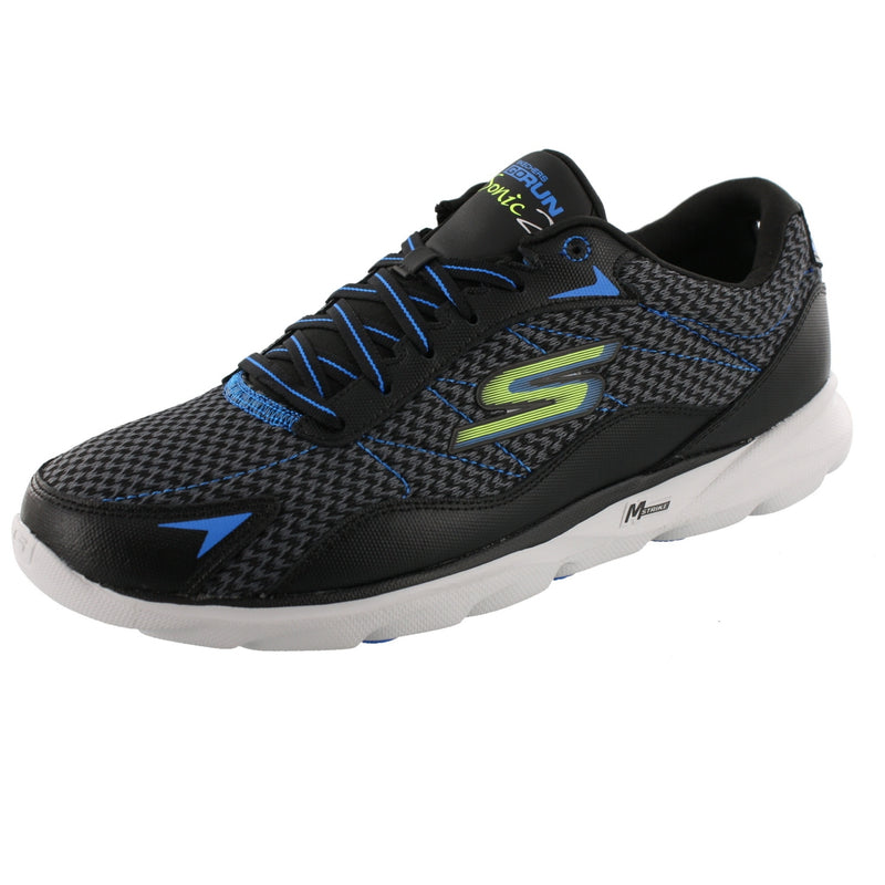 Skechers Men Lightweight Running Shoes Go Run Sonic 2