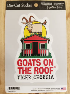 Die Cut Sticker Goats Logo