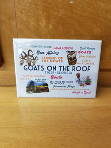 Magnet Goats on the Roof Illustration