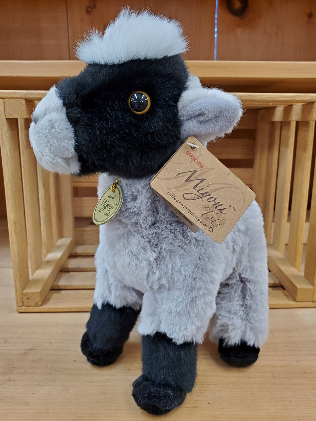 Stuffed Goat Miyoni Grey
