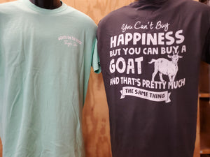 T-Shirt Cant Buy Happinness