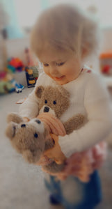 Darcy Ballerina Sweater and Bear