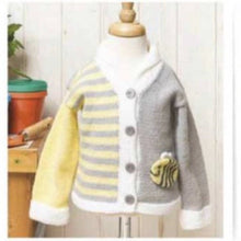 Load image into Gallery viewer, Bee happy cardigan jane burns