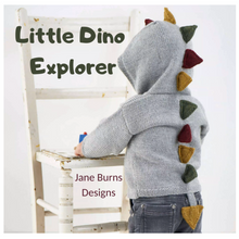 Load image into Gallery viewer, Little Stegosaur Hoodie