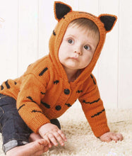 Load image into Gallery viewer, Baby Tiger Hoodie