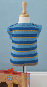 jane burns tractor tank top knit pattern