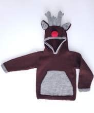 Load image into Gallery viewer, Reindeer Hoodie jane burns