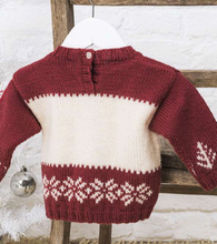 Load image into Gallery viewer, Snowman Ski Sweater JANE BURNS