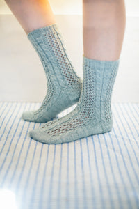 Twisting Ivy Socks