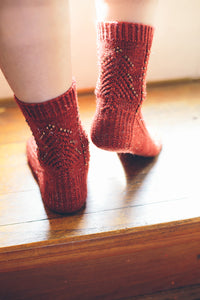 Sparkle Christmas Tree Socks