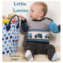 Load image into Gallery viewer, Little Lorries Pattern Jane burns
