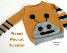 Load image into Gallery viewer, Robot Pocket Sweater