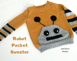 Robot Pocket Sweater