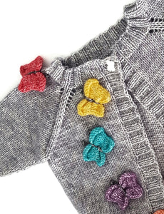 Butterflies and Rainbows Cardigan