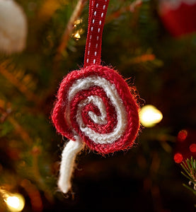 Lollypop Christmas Tree Decoration