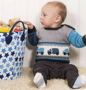 Little Lorries Sweater