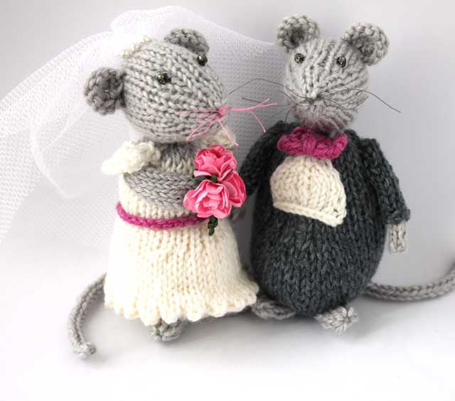 Forever Wedding Mice