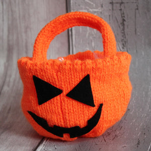 Trick or Treat Pumpkin Bowl