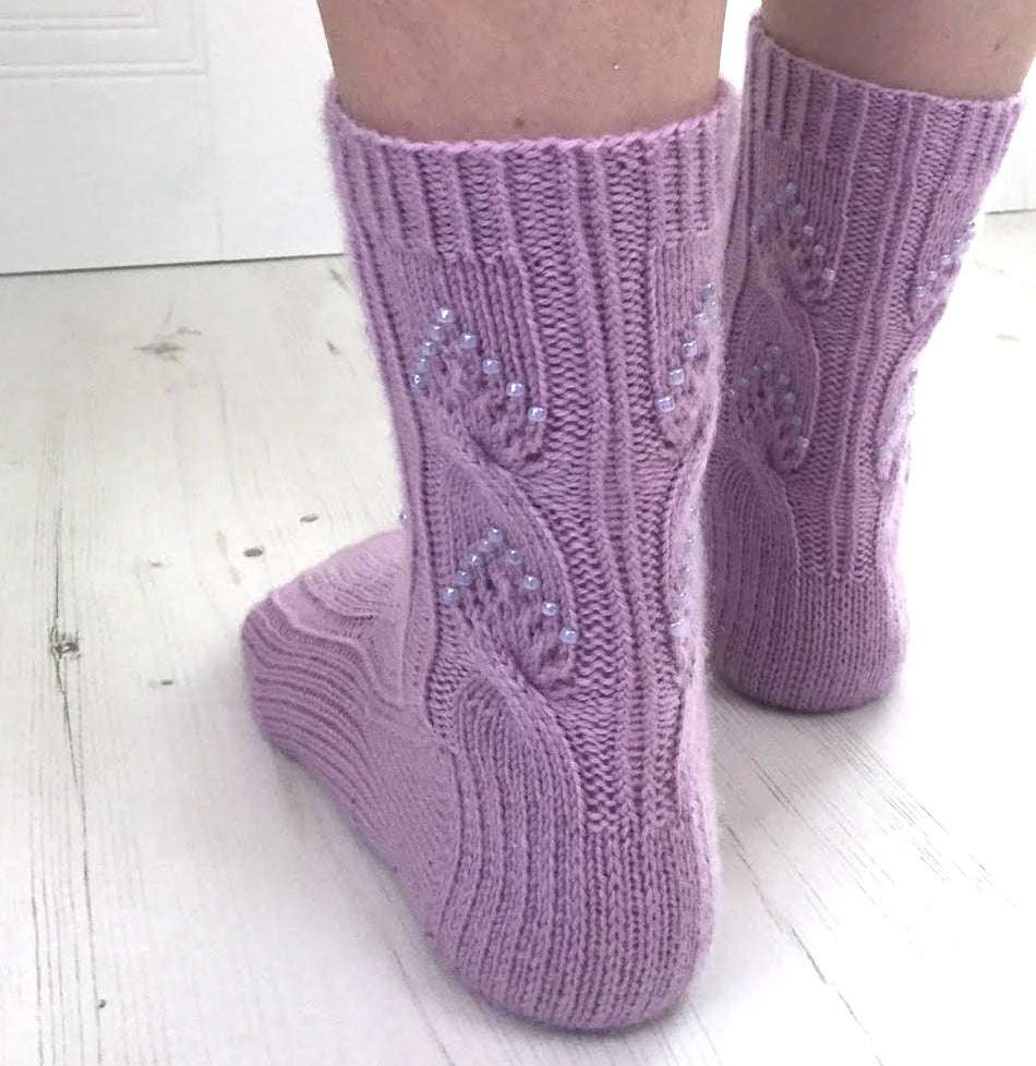 Twisted Love Socks