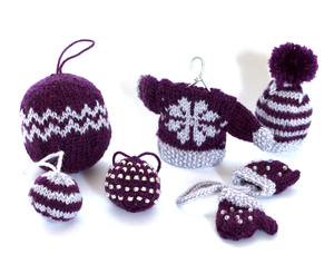 Christmas Glamour Bauble Pattern