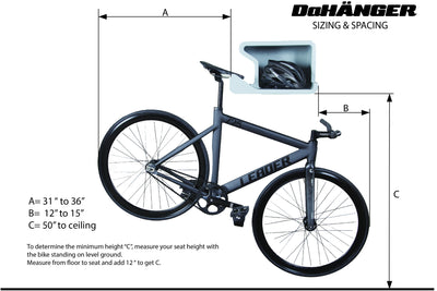 The Best Indoor Cycling Storage Wall Rack Dah 196 Nger Bike